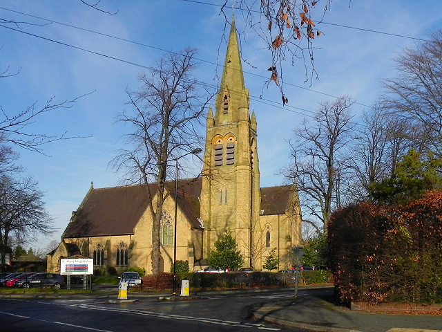 The Parish Church of St Mary Magdalene. Ashton-upon-Mersey