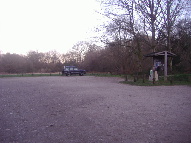 Car park on Ranmore Common