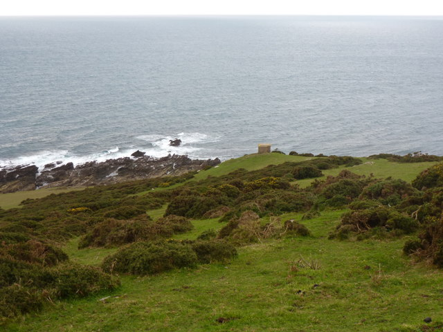 Gara Point from the coast path, Noss Mayo