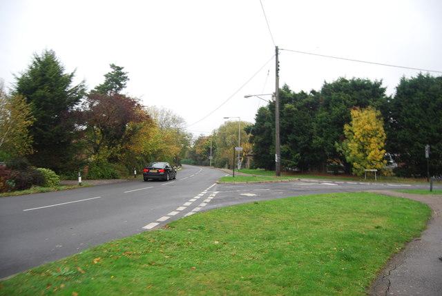 Molehill Rd, Chestfield Rd junction