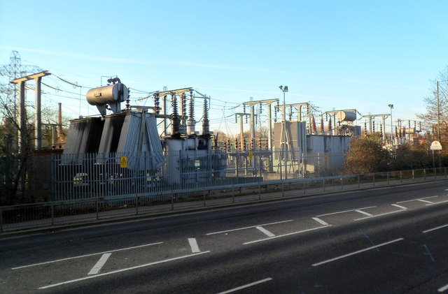 Electricity substation, Ryeford near Stonehouse