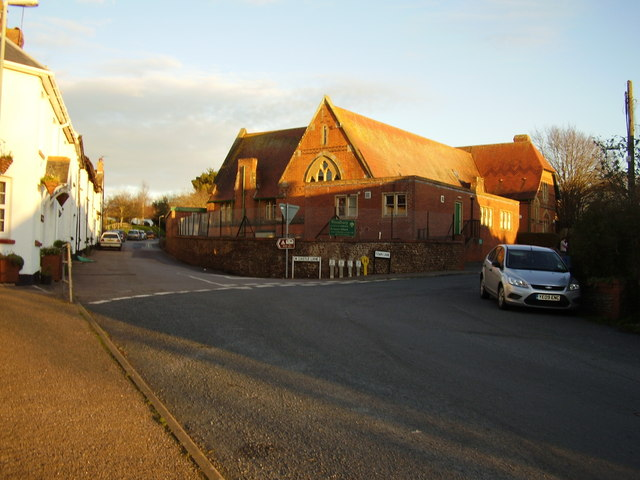 Woodbury C of E primary school
