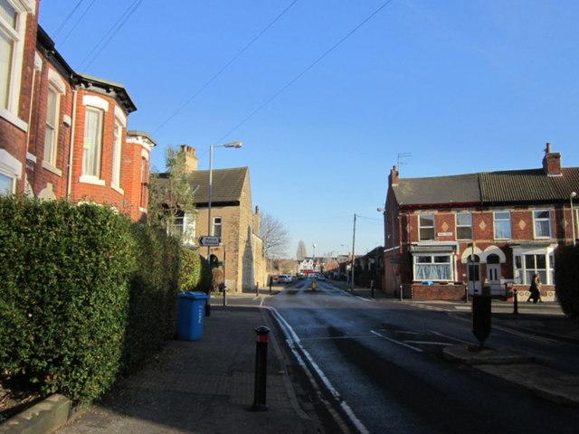 Park Grove at Park Road, Hull