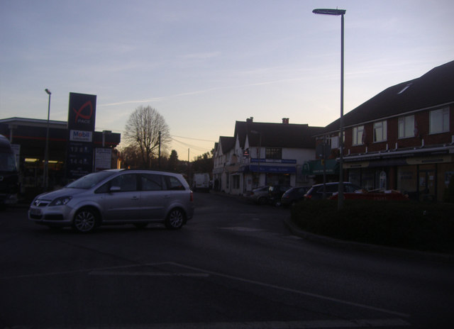 Junction of Cobham Road and The Street, Fetcham