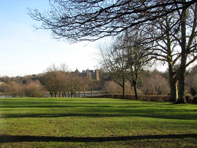 Framlingham Castle as seen from College Road