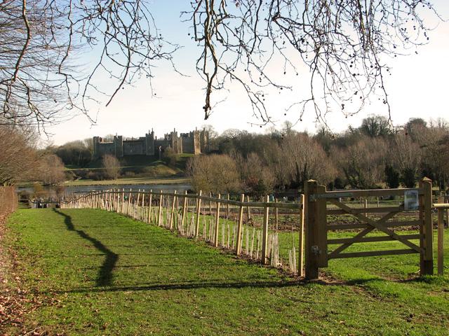 Footpath to the Mere, Framlingham