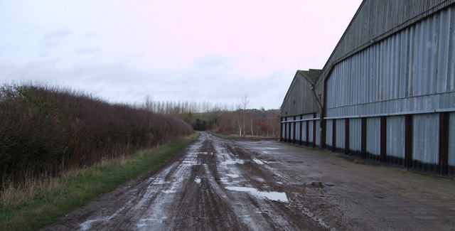 Lower Burytown Farm barns