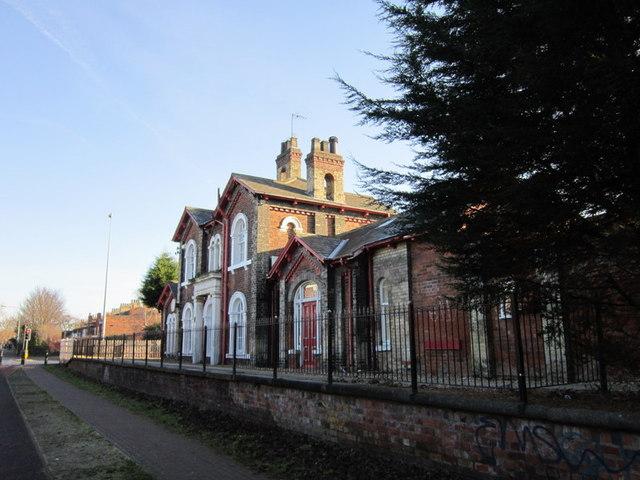 The former Stepney Train Station