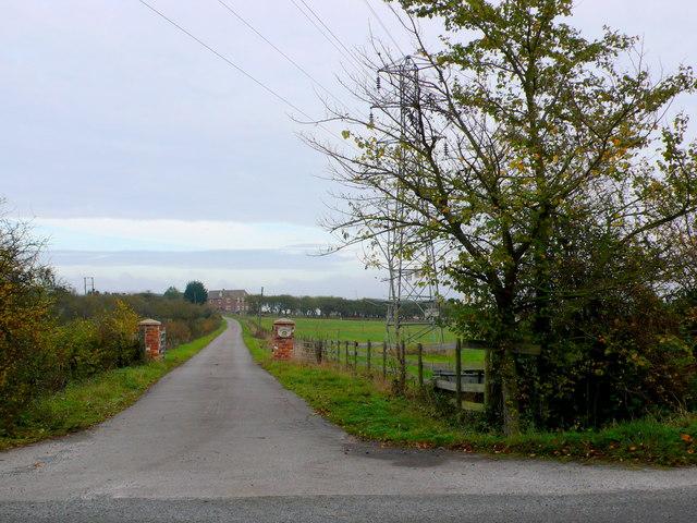 Entrance to Blenheim Farm