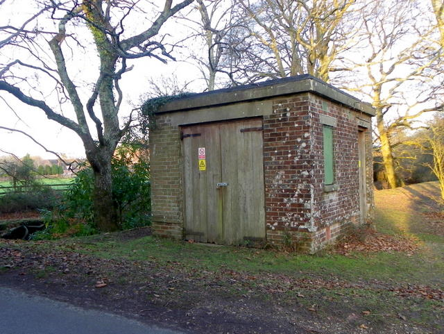 Electrical sub-station, Moyles Court