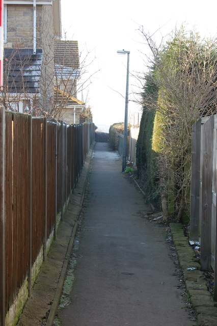 Path High Street to Rectory Road