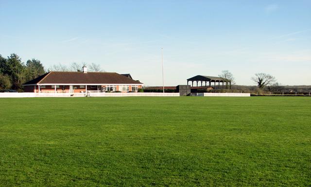 Easton Cricket Club pavilion