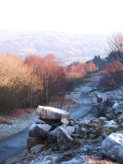 The road to Bewerley