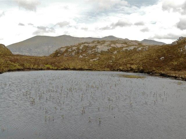 Un-named lochan by Arkle