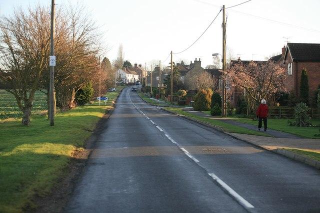 Wrawby village