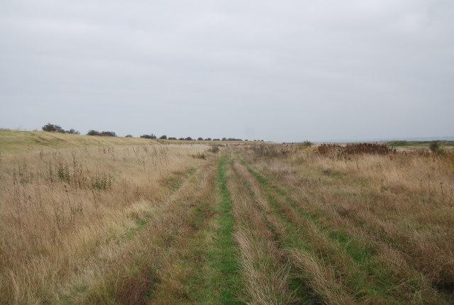 Footpath heading east