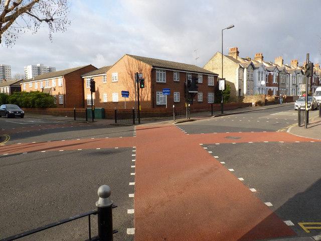 All ways pedestrian crossing