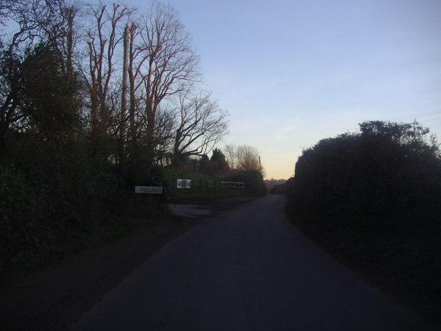 Entrance to Phoenice Farm, Chapel Lane