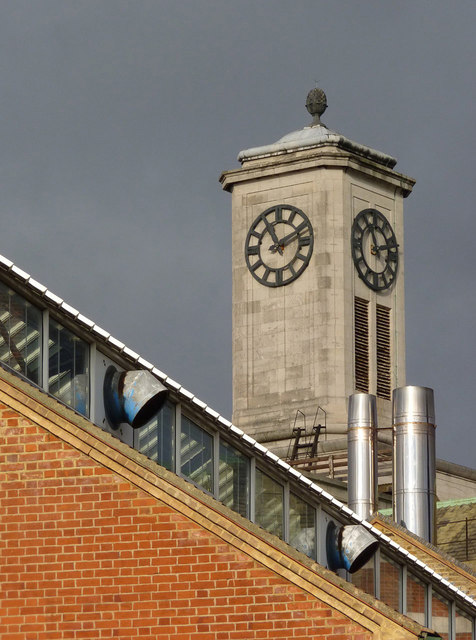 Acton Town Hall clock tower
