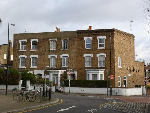 Houses on Acton Lane