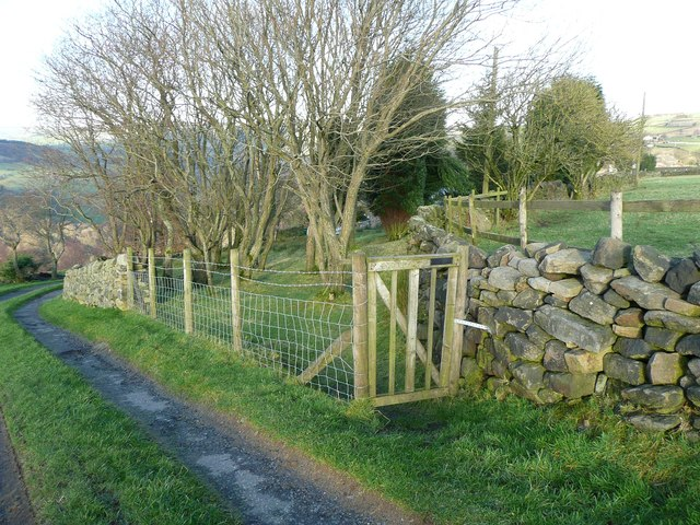 Footpath at Owlet Hill