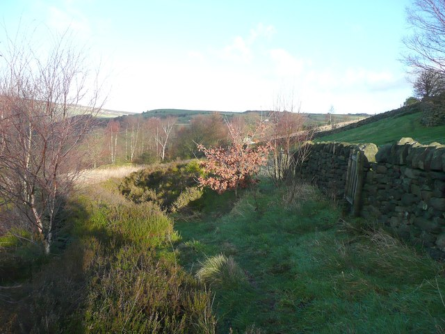 Footpath below Owlet Hill