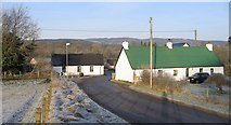 NH5041 : Down Post Office Brae by Craig Wallace