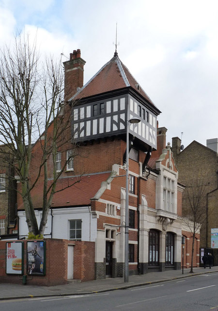 The old fire station, Acton