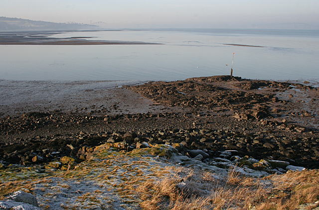 Firth of Forth from Cramond Island