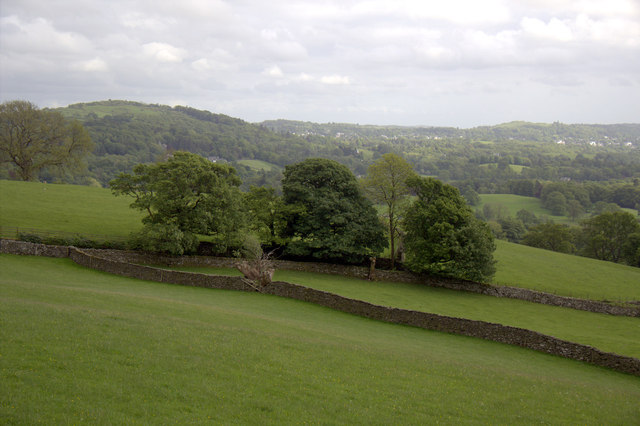 Looking South from Holbeck Lane, Ambleside, Cumbria