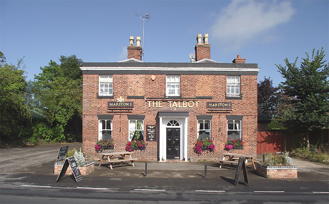 The Talbot Inn at Market Drayton, Shropshire