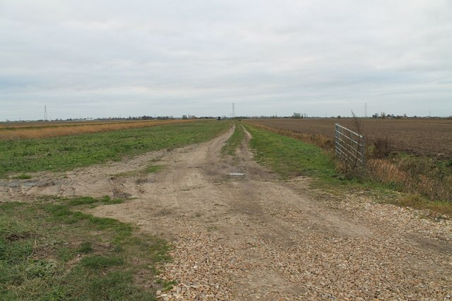 Track off Millhill Lane