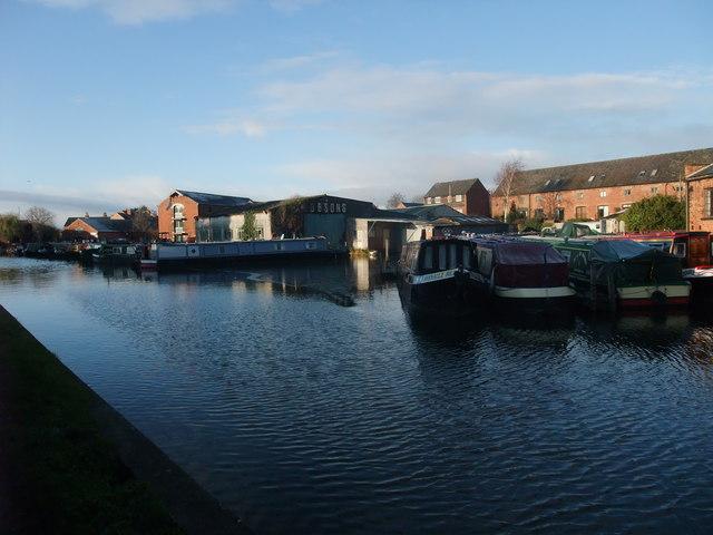 Dobson's Boatyard, Shardlow