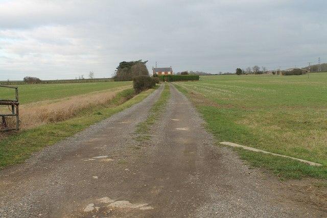 Track to Rowe's Farm