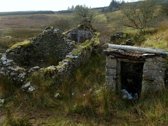 Long house ruin - Luagnabrogue
