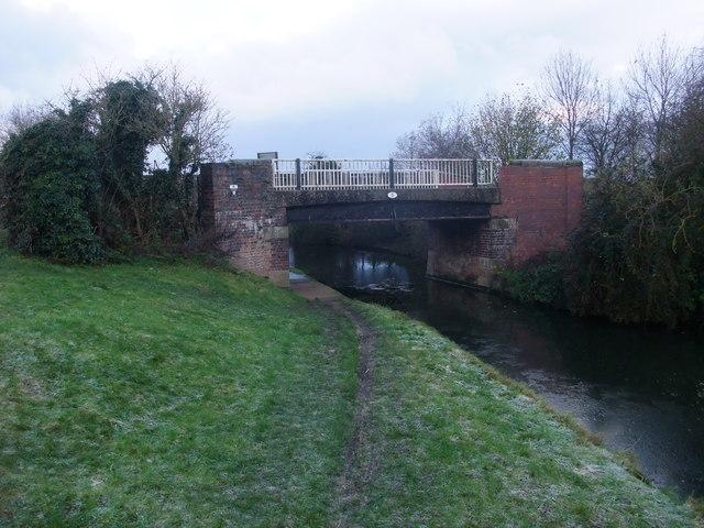 Acrelane Bridge no 5 over the Trent & Mersey canal