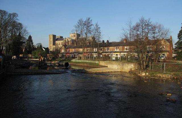 River Skell, Ripon