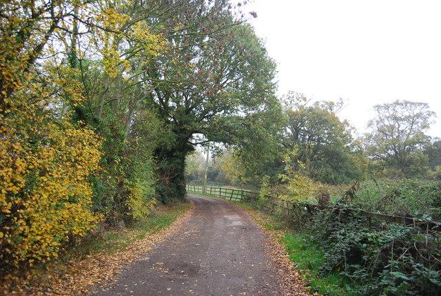 Footpath to Hawe Farm