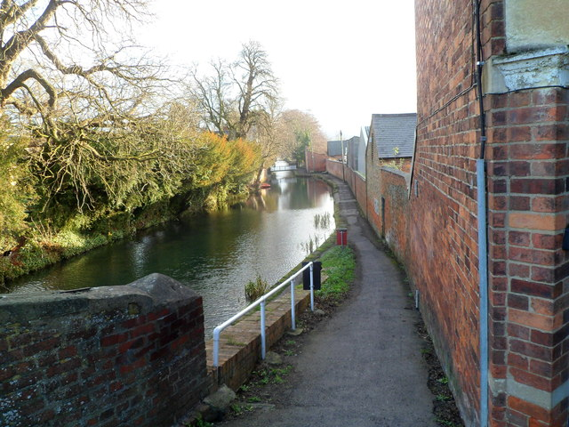 A view east from Ryeford Bridge