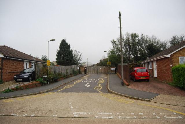 School entrance, Streetfield