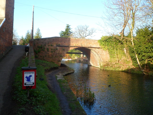Over or under Ryeford Bridge