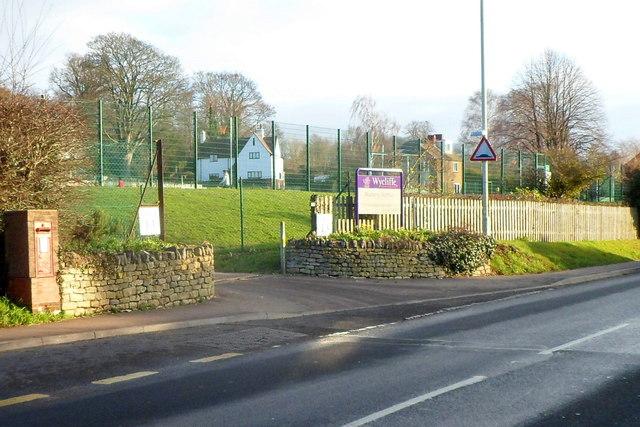 Entrance to Wycliffe Nursery School