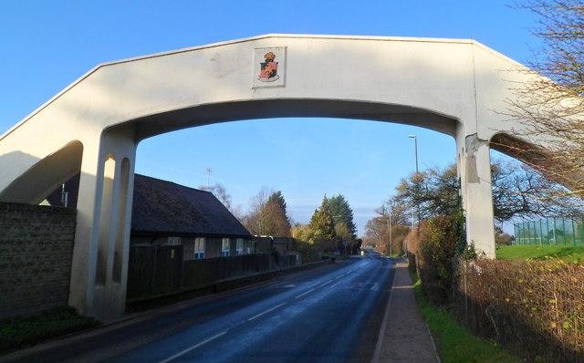 Ebley Road footbridge, Stonehouse