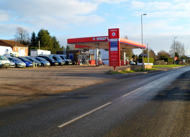 Murco Filling Station, Ryeford