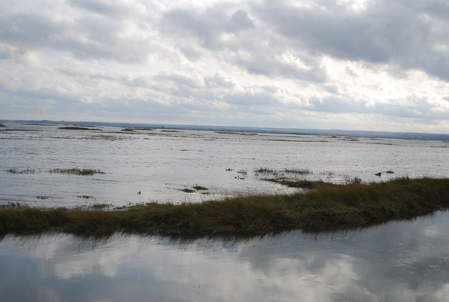 Stoke Saltings and the Medway Estuary
