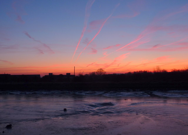 Oare Creek at sunrise
