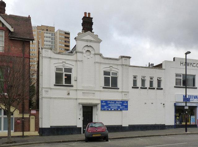 Building on Horn Lane