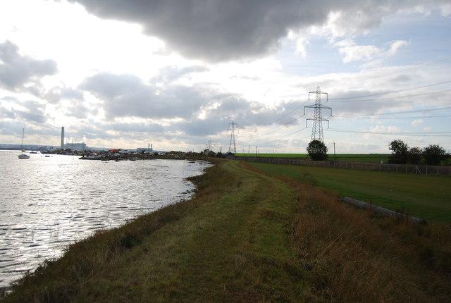 Footpath to Stoke Creek Crossing