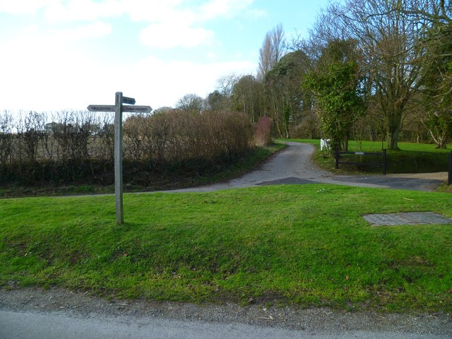 Footpath to Westlands