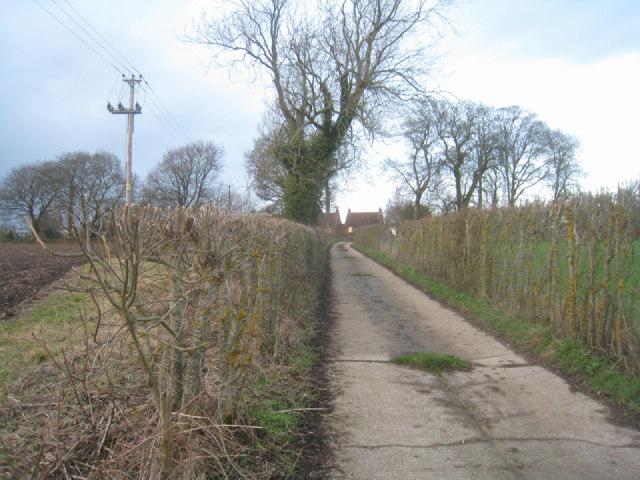 Wayfarer's Walk approaching Dummer
